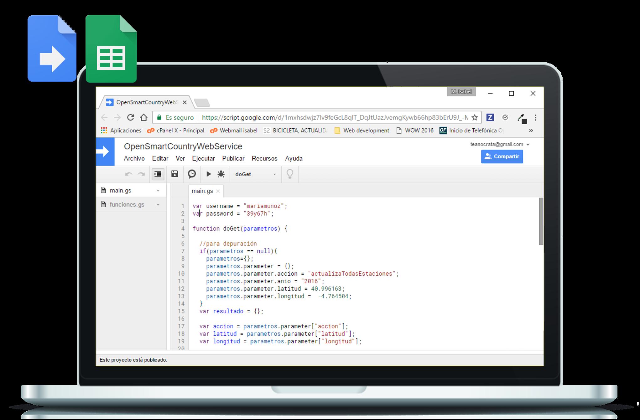 GooglAppsScripts - Several Google Apps Scripts